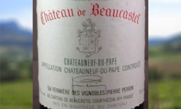 Chateauneuf-du-Pape 2007 – Classics Worth Pursuing