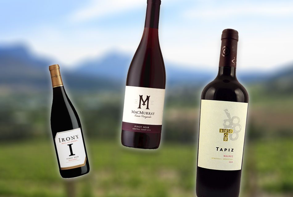 Red Wines from Four Continents for Summer Sipping, $10 to $20