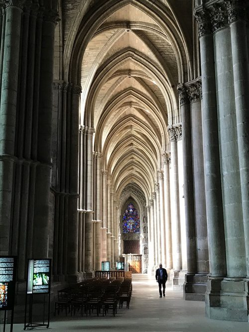 France 2018 Reims Cathedral Arches