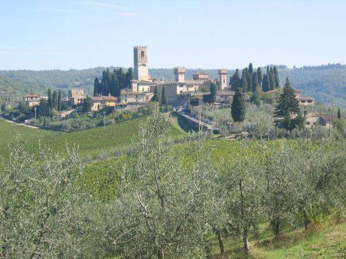 Italy Badia Passignano View