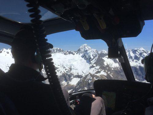 NZ Chopper Alps to Milford Sound
