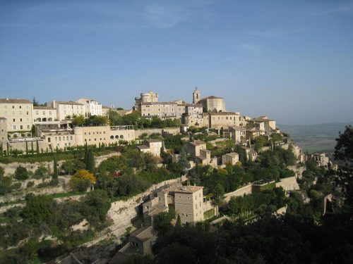 Provence Gordes Panorama