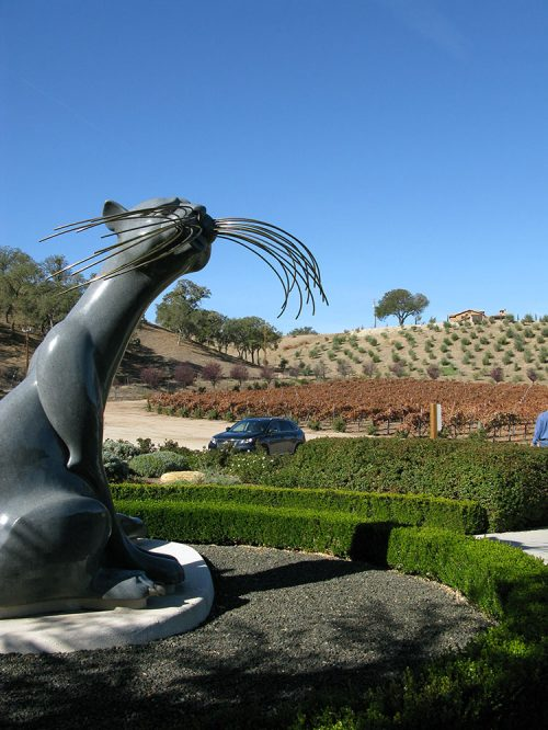 Sculpterra Kitty and Vineyards Paso Robles
