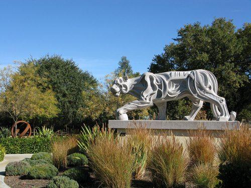 Sculpterra Stalking Lion Paso Robles